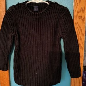 4t black Gap sweater